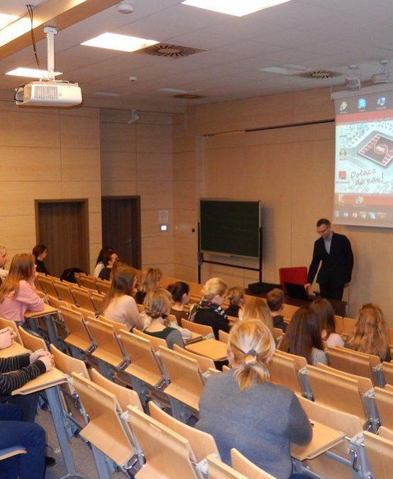 Wycieczka z Ukrainy na Politechnice Świętokrzyskiej