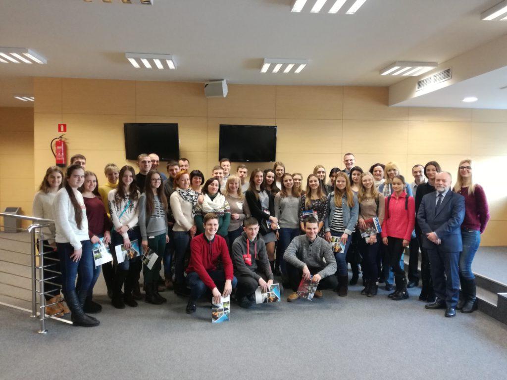 Wizyta ukraińskiej młodzieży