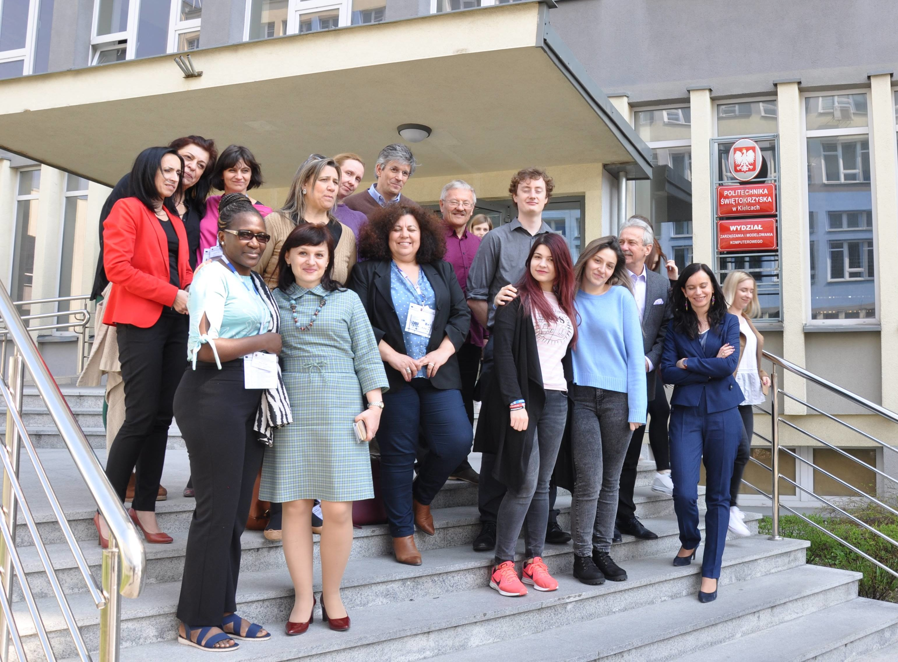 Erasmus+ International Week at the Faculty of management and Computer Modelling 8-12 April 2019.