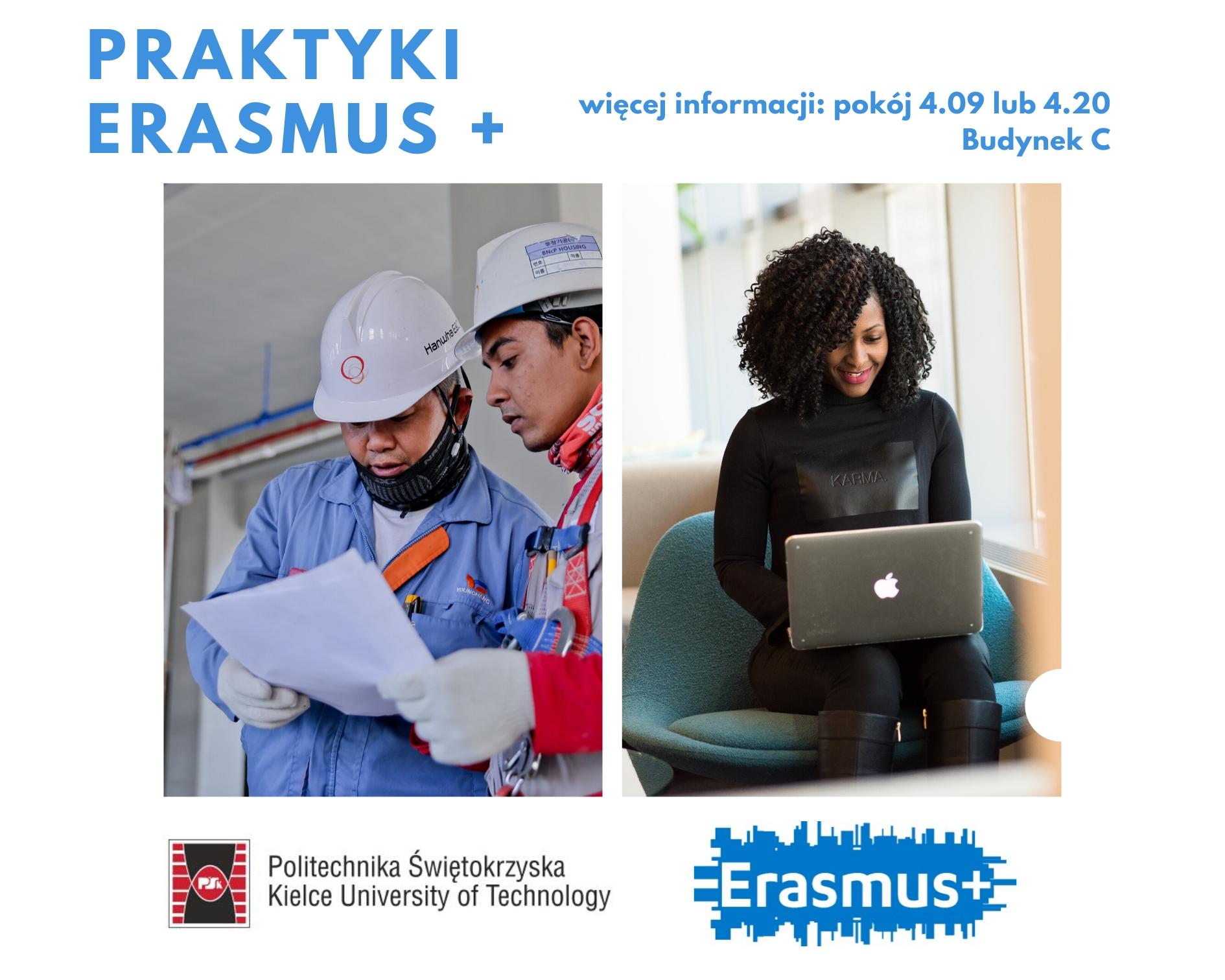 WYJEDŹ NA PLUS Z ERASMUS+ – Praktyki