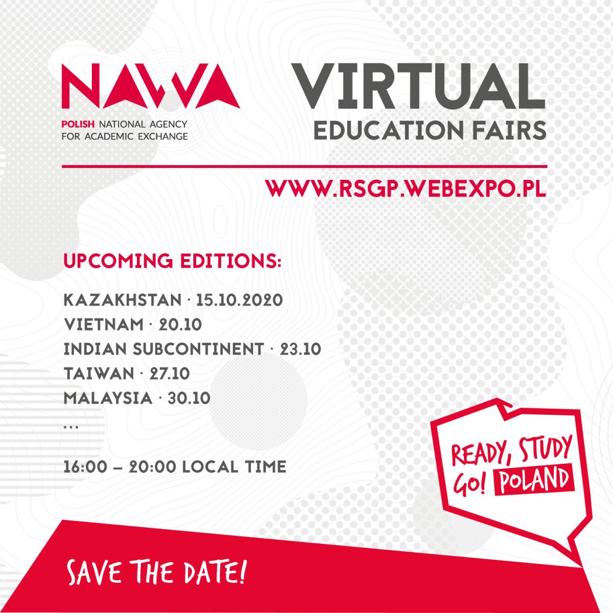 Virtual Polish Education Fairs in More Than 50 Countries!