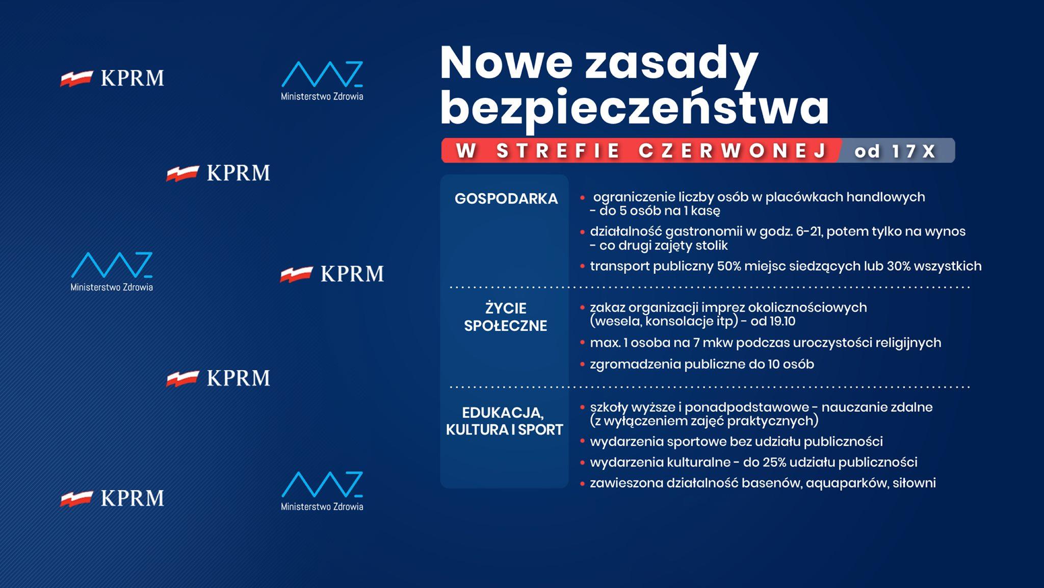 Nowe zasady bezpieczeństwa w całym kraju/New national safety rules PL/ENG