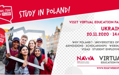FREE Virtual education fairs STUDY IN POLAND Ukraine EDITION