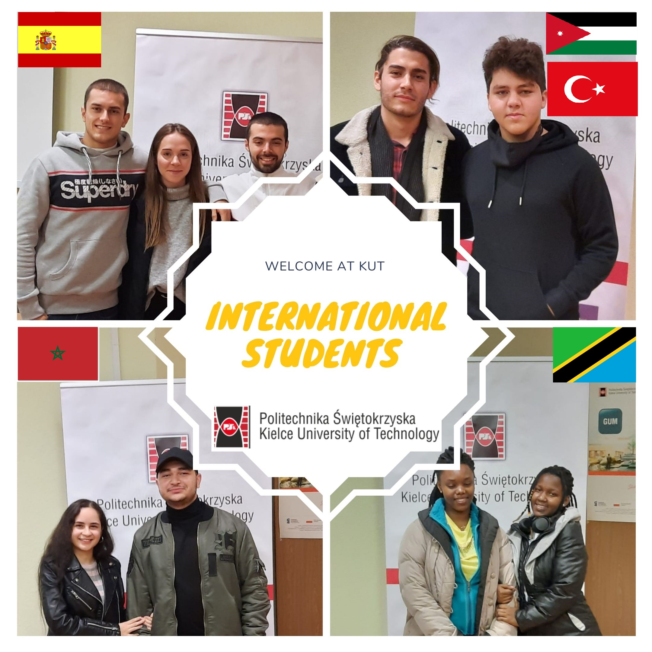 INTERNATIONAL STUDENTS AT THE KIELCE UNIVERSITY OF TECHNOLOGY – WELCOME!!!